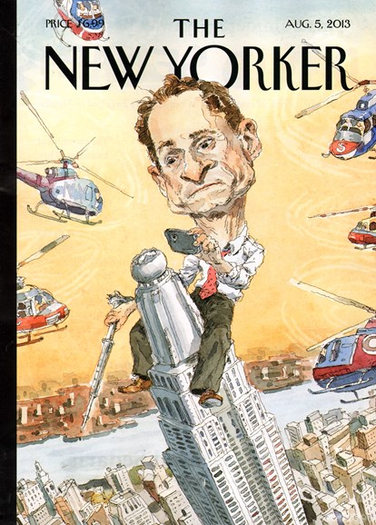 The New Yorker Cover - 8/5/2013