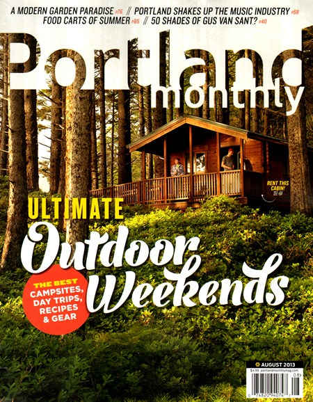 Portland Monthly Cover - 8/1/2013