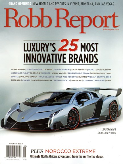 Robb Report Cover - 8/1/2013