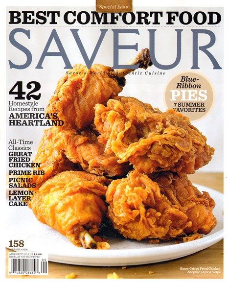 Saveur Cover - 8/1/2013