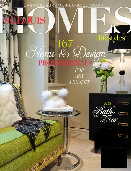 St. Louis Homes & Lifestyles Cover - 8/1/2013