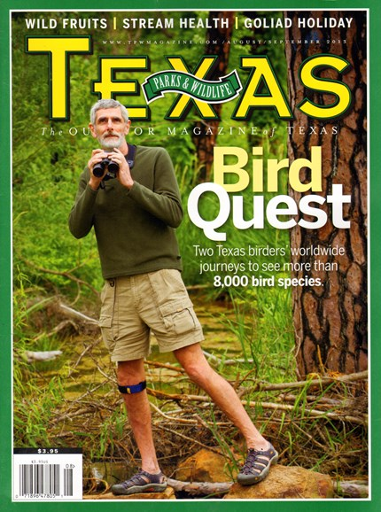 Texas Parks & Wildlife Cover - 8/1/2013
