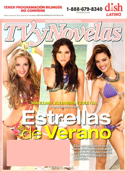 Tv Y Novelas Cover - 8/1/2013