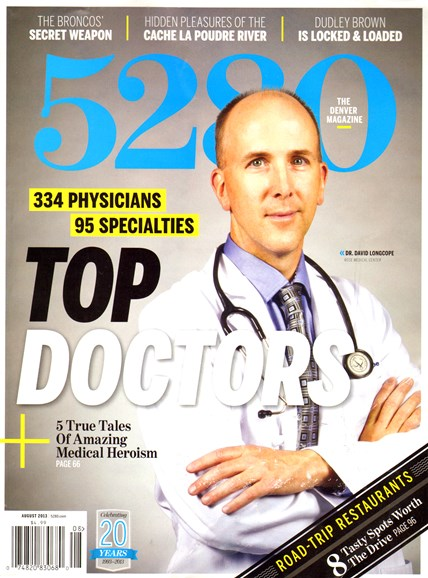 5280 Magazine Cover - 8/1/2013