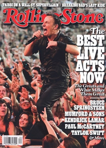 Rolling Stone Cover - 8/15/2013