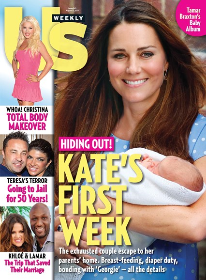 Us Weekly Cover - 8/12/2013