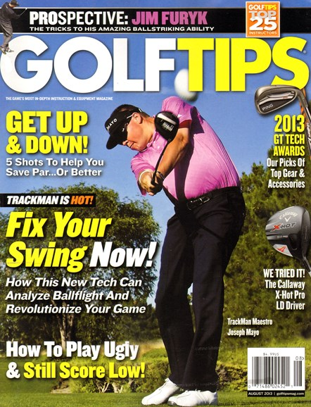 Golf Tips Cover - 8/1/2013