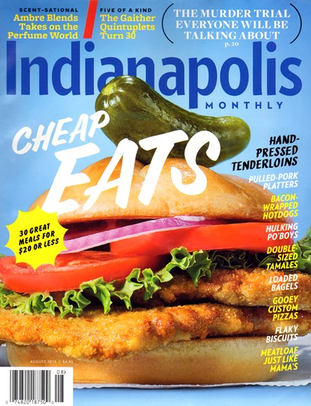 Indianapolis Monthly Cover - 8/1/2013