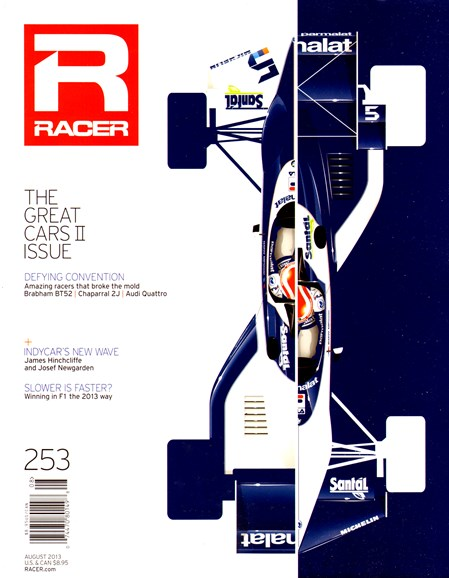 Racer Cover - 8/1/2013