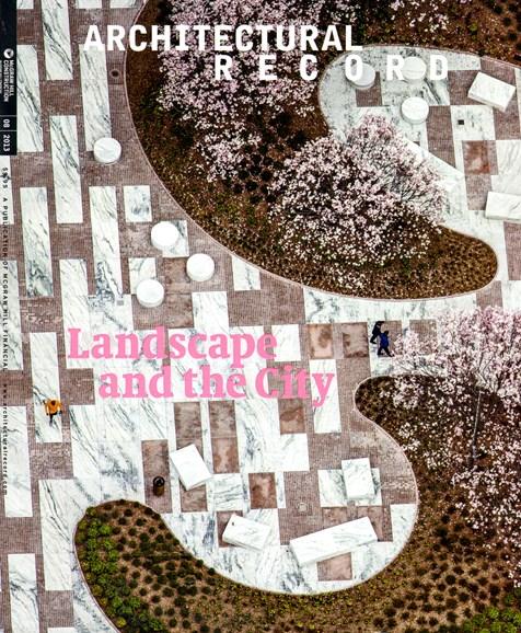 Architectural Record Cover - 8/1/2013