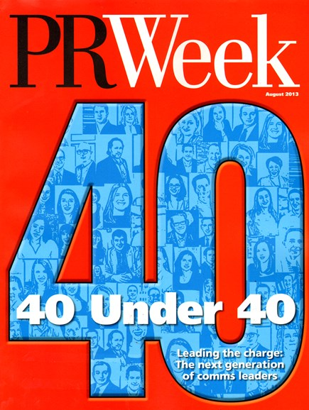 PRWeek Cover - 8/1/2013