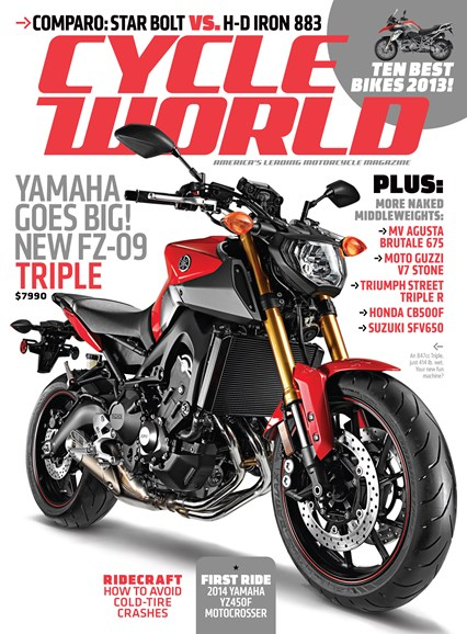 Cycle World Cover - 9/1/2013
