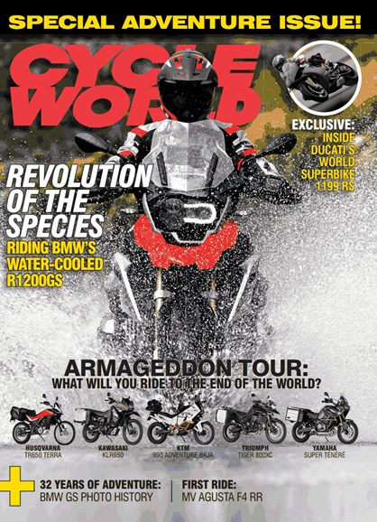 Cycle World Cover - 4/1/2013