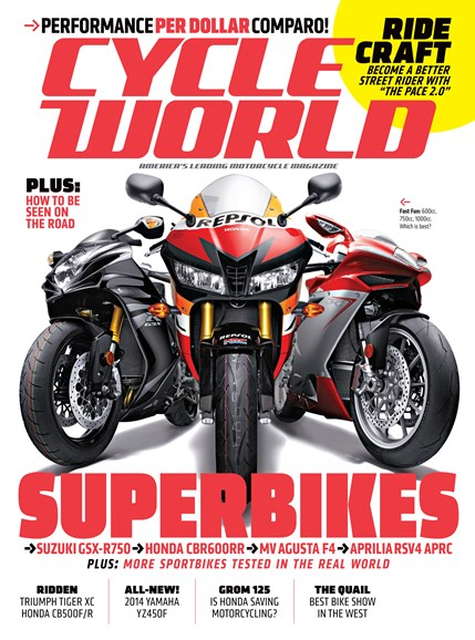 Cycle World Cover - 8/1/2013