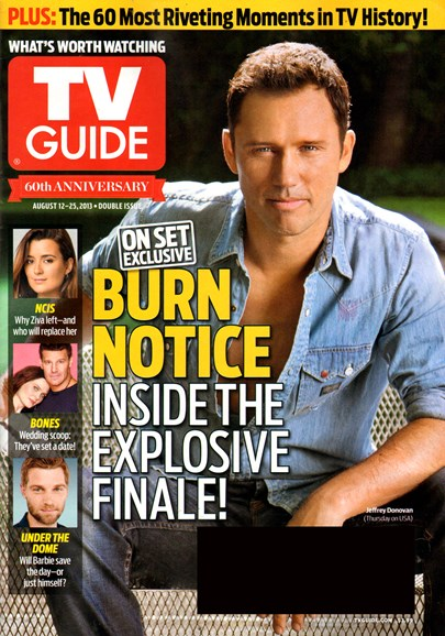 TV Guide Cover - 8/12/2013