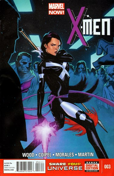 X-Men Gold Cover - 9/1/2013
