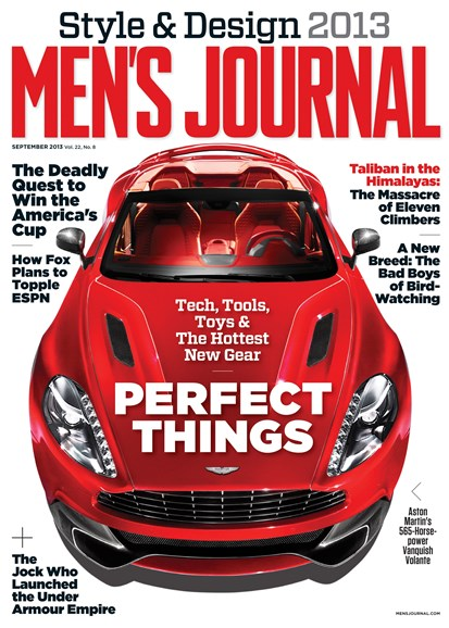Men's Journal Cover - 9/1/2013