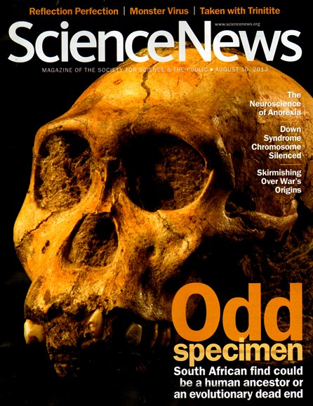 Science News Cover - 8/10/2013