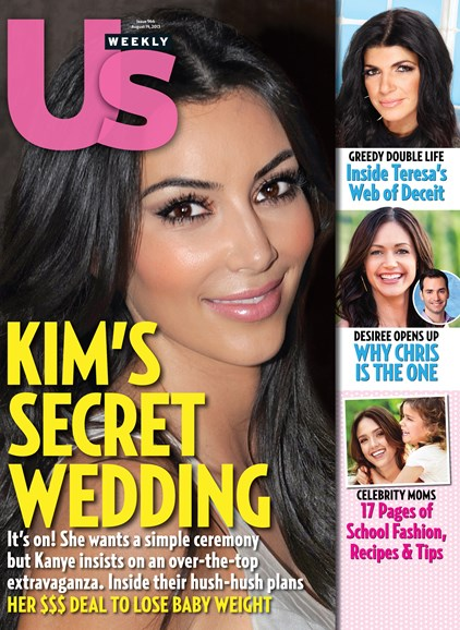 Us Weekly Cover - 8/19/2013