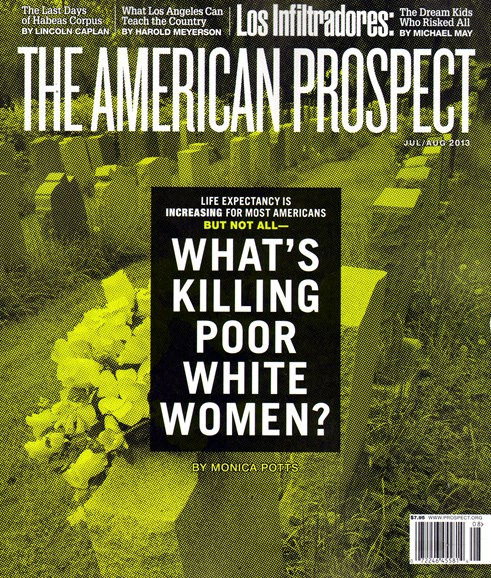 The American Prospect Cover - 7/1/2013