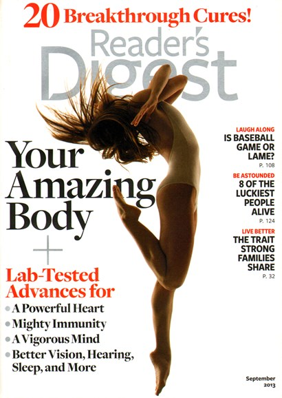 Reader's Digest Cover - 9/1/2013