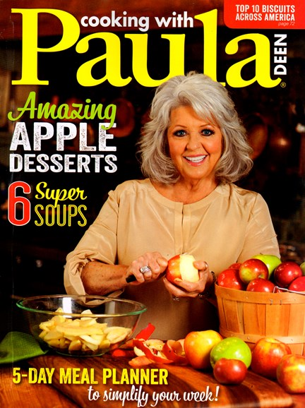 Cooking With Paula Deen Cover - 9/1/2013