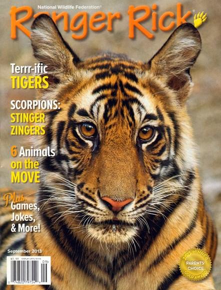 Ranger Rick Cover - 9/1/2013