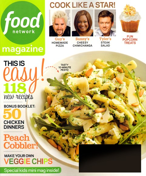 Food Network Cover - 9/1/2013