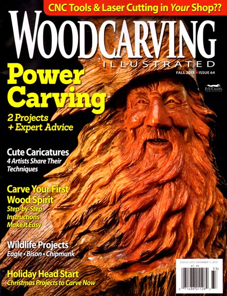 Wood Carving Illustrated Cover - 9/1/2013