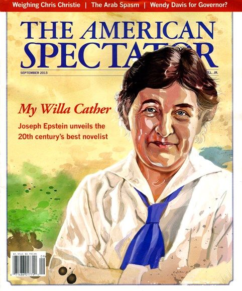 The American Spectator Cover - 9/1/2013