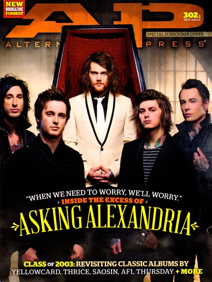 Alternative Press Cover - 9/1/2013