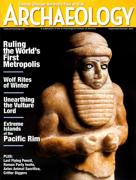 Archaeology Cover - 9/1/2013