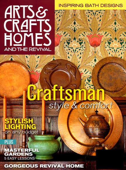 Arts & Crafts Homes Cover - 9/1/2013