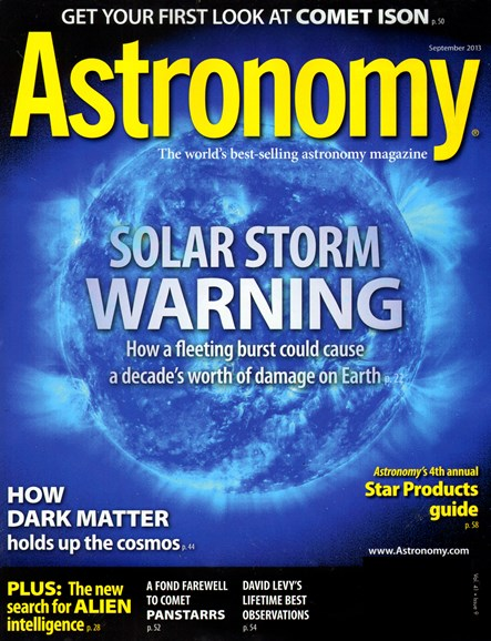 Astronomy Cover - 9/1/2013