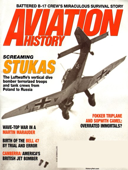 Aviation History Cover - 9/1/2013