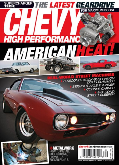 Chevy High Performance Cover - 9/1/2013