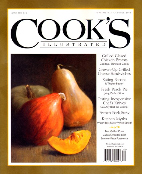 Cook's Illustrated Cover - 9/1/2013