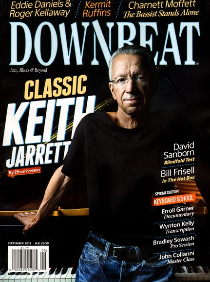 DownBeat Cover - 9/1/2013