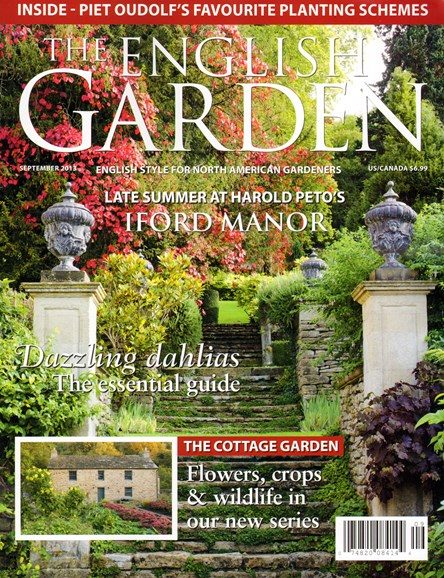 The English Garden Cover - 9/1/2013
