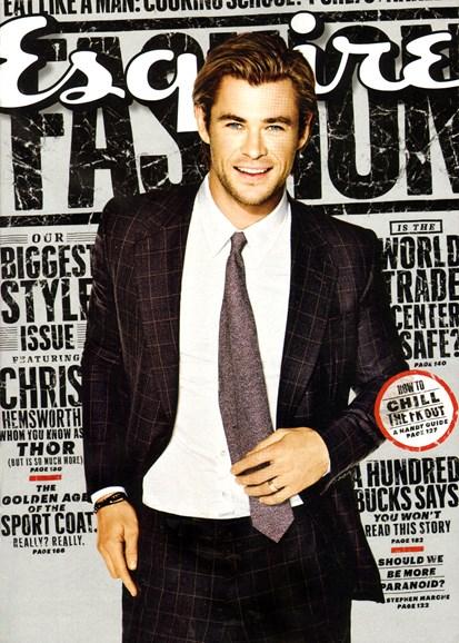 Esquire Cover - 9/1/2013