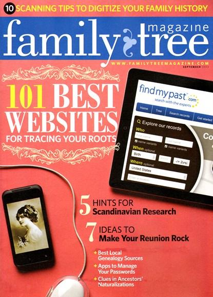Family Tree Cover - 9/1/2013
