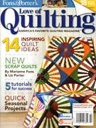 Fons & Porter's Love of Quilting 9/1/2013