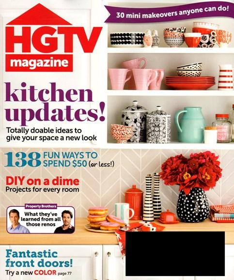 HGTV Cover - 9/1/2013