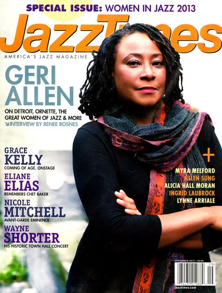 JazzTimes Cover - 9/1/2013