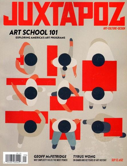Juxtapoz Cover - 9/1/2013