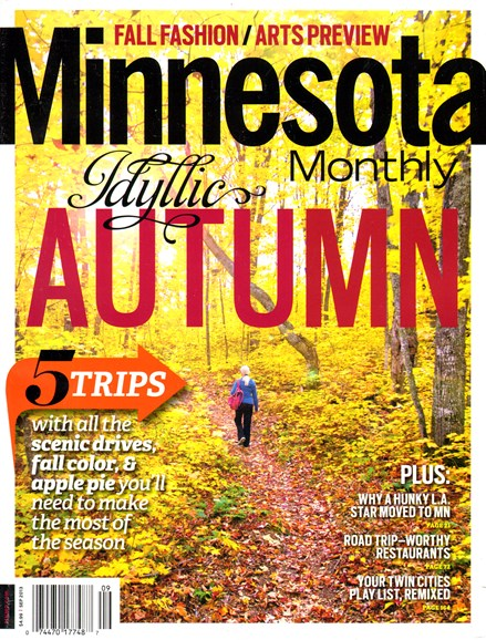 Minnesota Monthly Cover - 9/1/2013