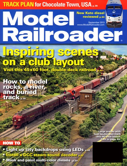 Model Railroader Cover - 9/1/2013