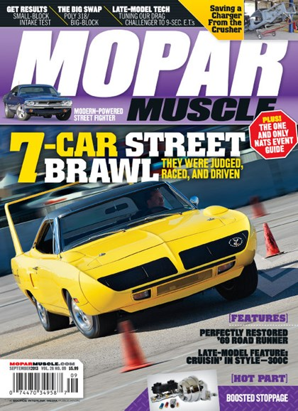 Mopar Muscle Cover - 9/1/2013