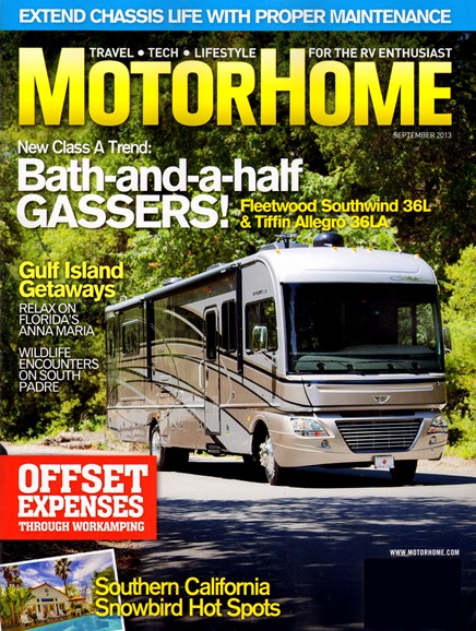 MotorHome Cover - 9/1/2013