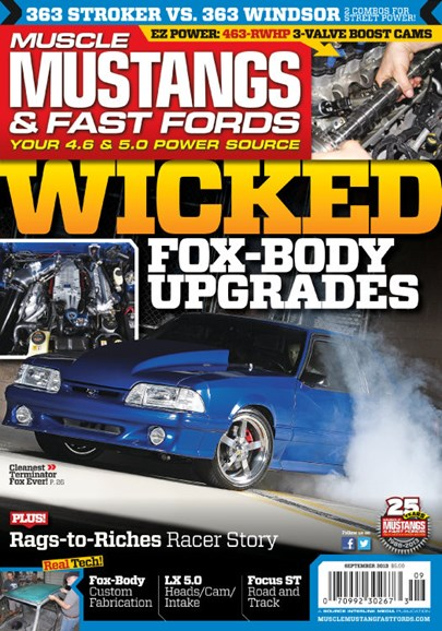 Muscle Mustangs & Fast Fords Cover - 9/1/2013